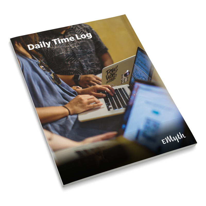 e-myth daily time log find work-life balance